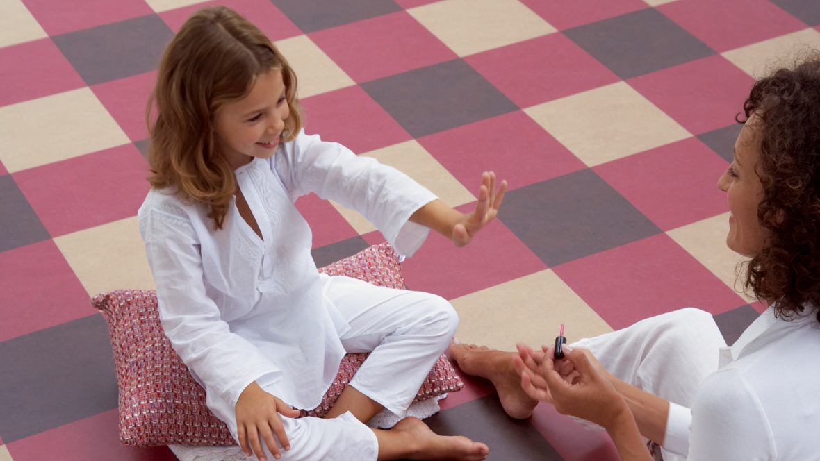 Linoleumboden Kinderzimmer marmoleum click linoleum im kinderzimmer ein gesunder bodenbelag