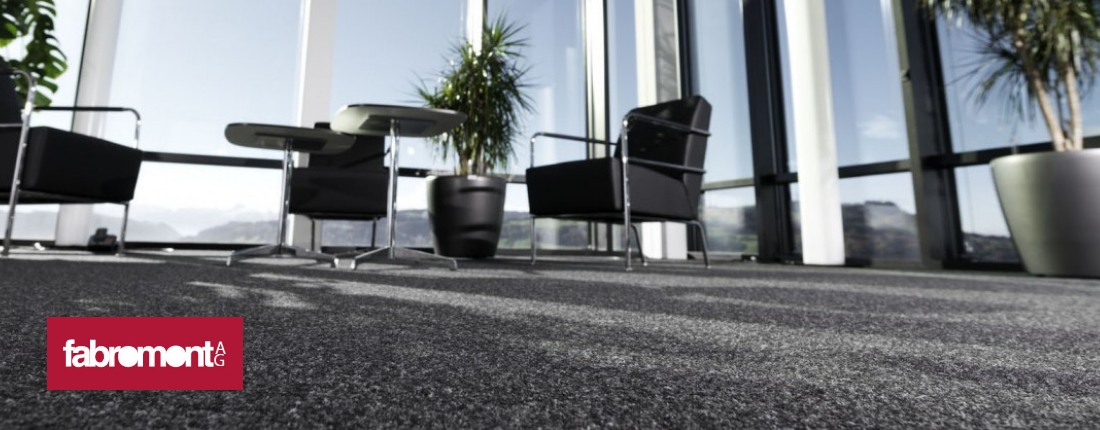 Fabromont Kugelgarn hochstrapazierfähiger textiler Bodenbelag für Büro und Objekt